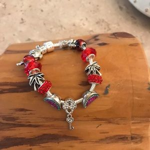 Accessories - Beads with crystals bracelet! Super cute! New!